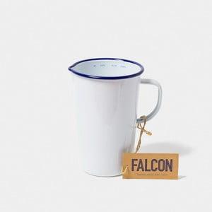 Biely smaltovaný džbán Falcon Enamelware DoublePint, 1,137 l