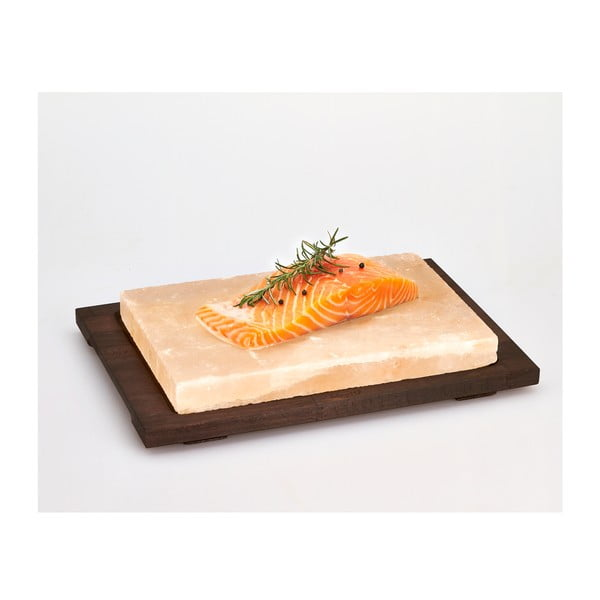Servírovací podnos so soľnou doskou Salt Plate, 38x27 cm