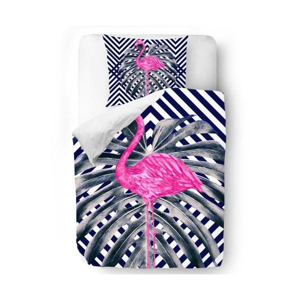 Obliečky Jungle Flamingo, 140x200 cm