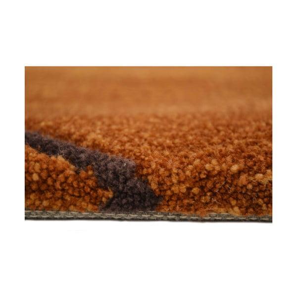 Ručne tkaný koberec Pluto, 170x240 cm, béžový