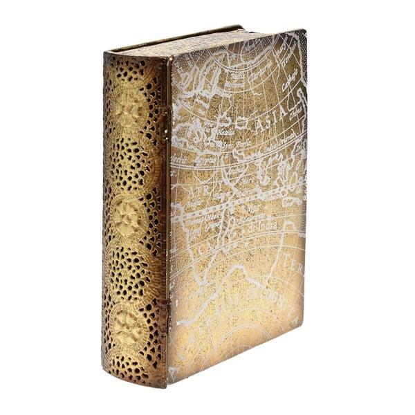 Kovový box Golden Book