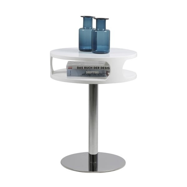 Konferenčný stolík Caspian, výška 60 cm, biely