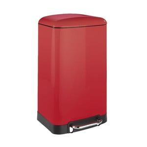 Červený odpadkový kôš Wenko, 30l