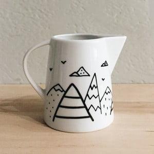 Nádobka na mlieko FOR.REST Design Let's Move Mountains