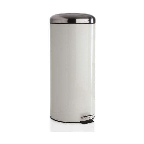 Odpadkový kôš Sabichi Cream Pedal, 30 l