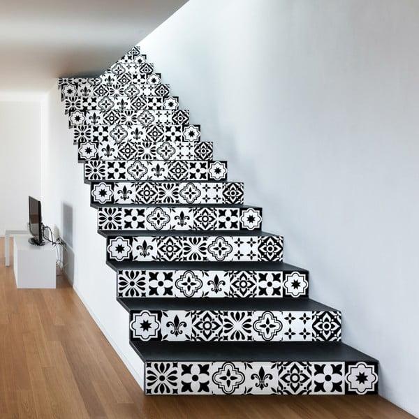 Sada 2 samolepiek na schody Ambiance Damiano, 15×105 cm