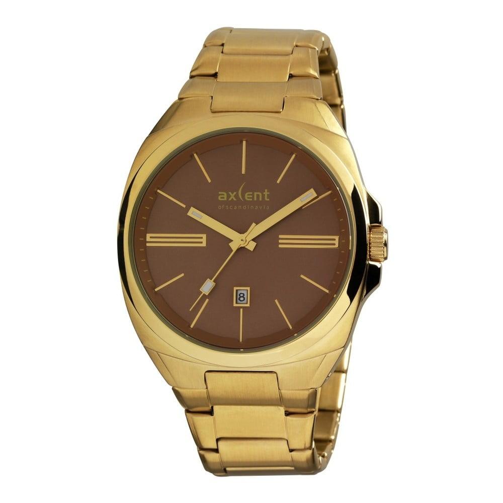32719cc29 Zlaté pánske hodinky Axcent of Scandinavia Impact   Bonami