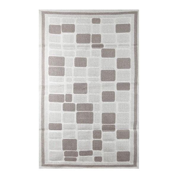 Koberec Cream Tiles, 100x150 cm