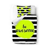 Obliečky Be Awesome, 140x200 cm