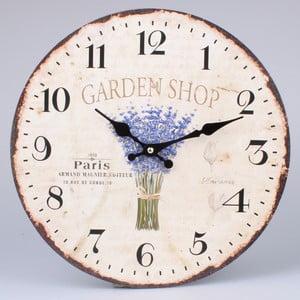 Nástenné hodiny Garden Shop