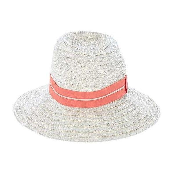 Béžový slamený klobúk BLE by Inart