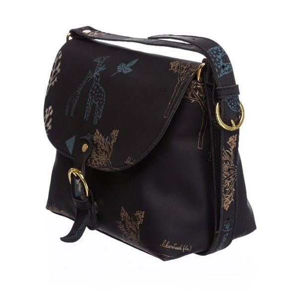 Kožená kabelka Tarde Black
