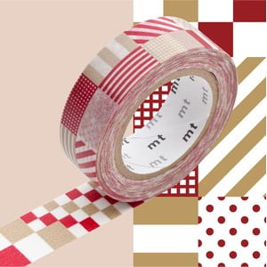 Washi páska MT Masking Tape Vivien, návin10m