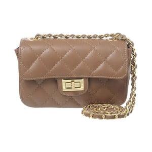 Kožená listová kabelka Coco Miss Taupe