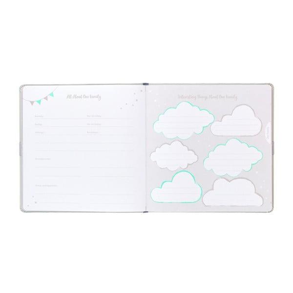 Svetlosivý denník bábätka Busy B