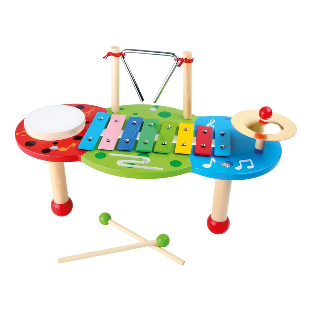 Drevený hudobný stolík na hranie Legler Deluxe