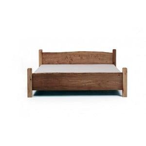 Posteľ z jelšového dreva Mazzivo Country, 160 x 200 cm