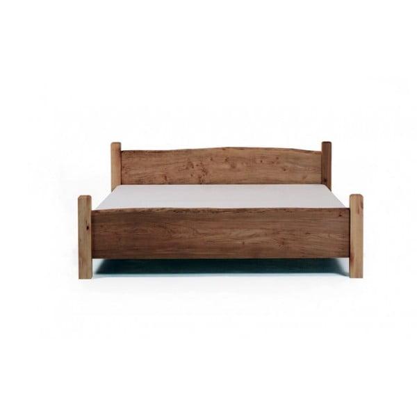 Posteľ z jelšového dreva Mazzivo Country, 180 x 200 cm
