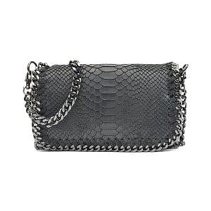 Čierna kožená kabelka Luisa Vannini Casia