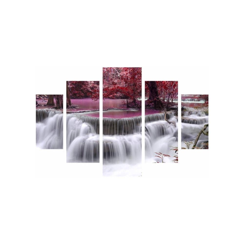 Viacdielny obraz Waterfall, 92 × 56 cm