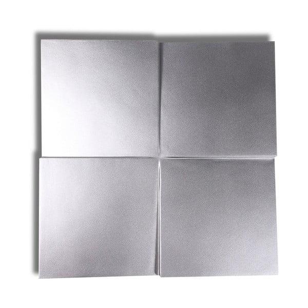 Dekoratívny panel Cuatro Silver