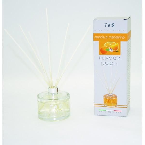 Difuzér THD Fragnances, mandarínka 100 ml