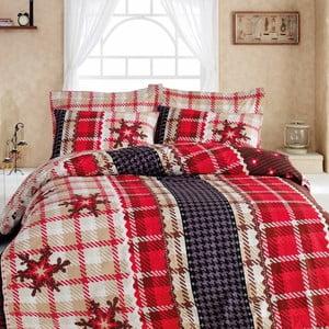 Obliečky s plachtou Virginia Red, 200x220 cm