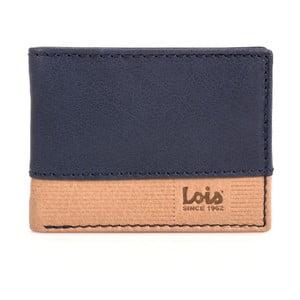 Kožená peňaženka Lois Blue, 11x8 cm