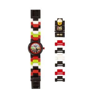 Detské hodinky s figúrkou LEGO® City Firefighter