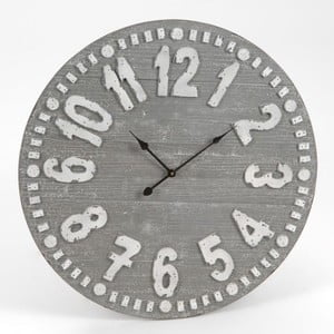 Nástenné hodiny Black&Grey Clock