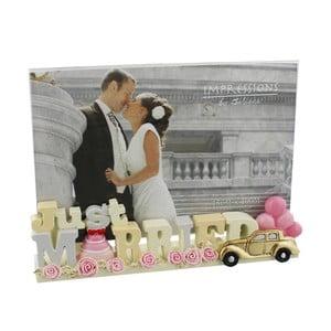 Rámik na fotografiu Celebrations Just Married, na fotografiu 10×15 cm