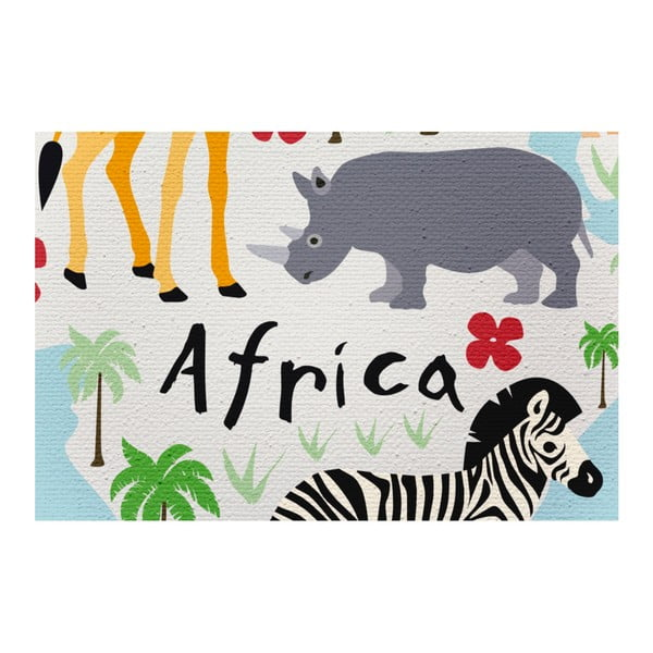 Plátno Little Nice Things Animal Map, 60 x 40 cm