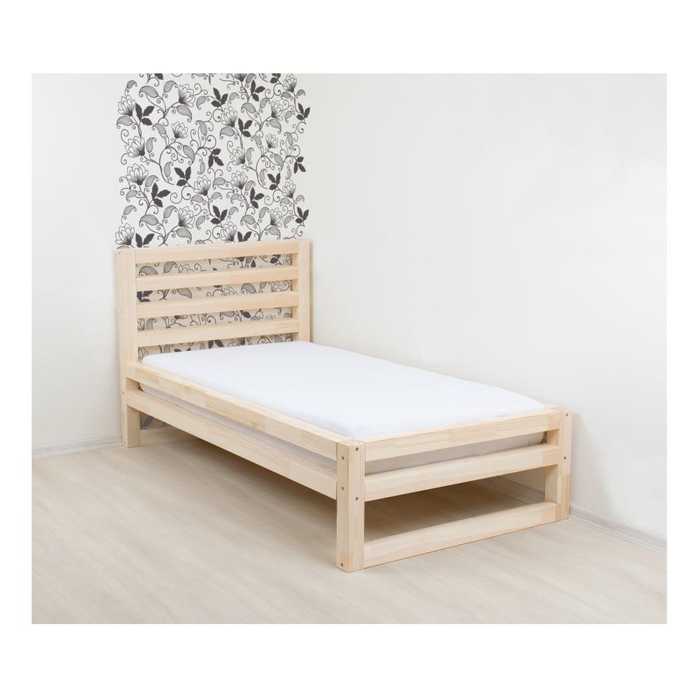 fa037dbedaec1 Drevená jednolôžková posteľ Benlemi DeLuxe Naturaleza, 190 × 90 cm