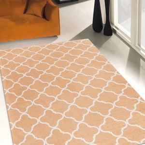 Vysokoodolný kuchynský koberec Trellis Apricot, 60x150 cm