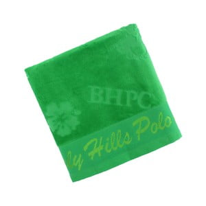Zelený bavlnený uterák BHPC Velvet, 50x100 cm