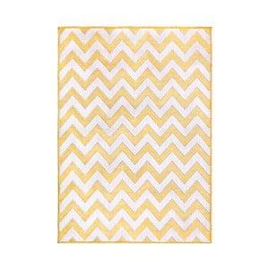 Žltý koberec Flair Rugs Trieste, 160×230 cm