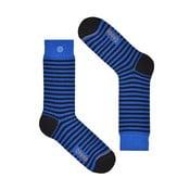 Ponožky Qnoop Linear Small Blue, veľ. 39-42