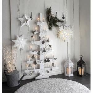 Biela nástenná svietiaca dekorácia Best Season Wall Tree