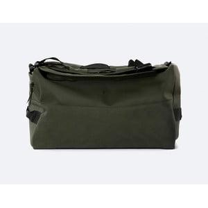 Zelený batoh s vysokou vodoodolnosťou Rains Duffel