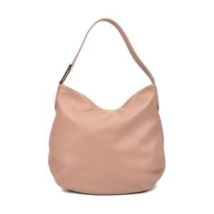 Ružovobéžová kožená kabelka Isabella Rhea Gerrie