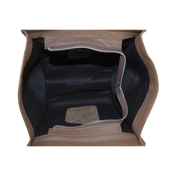 Kožená kabelka Rose, béžová