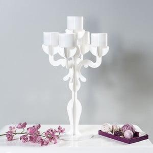 Stojan na sviečky Vittoriale Bianco