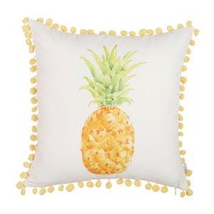 Obliečka na vankúš Apolena Shiny Pineapple, 43x43cm