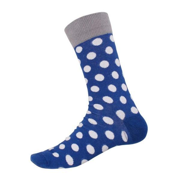 Ponožky Big Dots Blue, veľkosť 40-44