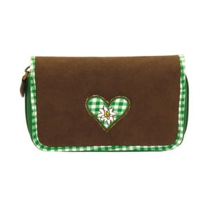 Dámska peňaženka Bavaria Fitted Brown/Green