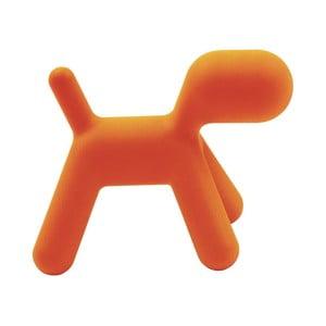 Oranžová stolička Magis Puppy, dĺžka70cm