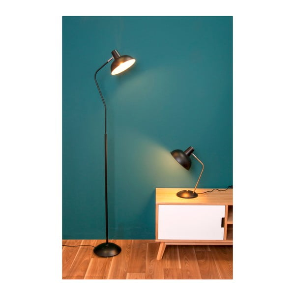 Čierna volne sotjacia lampa Leitmotiv Hood
