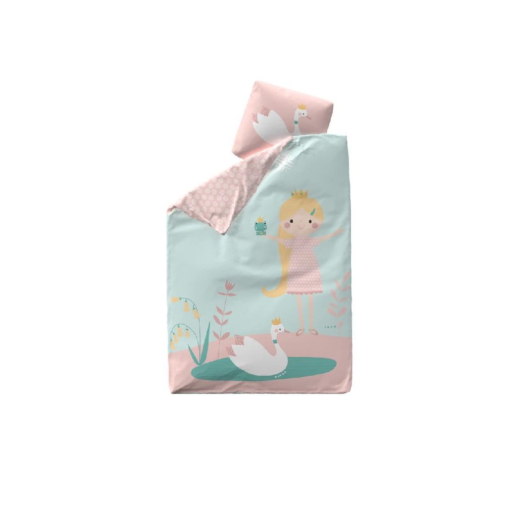 Detské bavlnené obliečky Flexa Little Princess, 140 × 200 cm + 50 × 70 cm