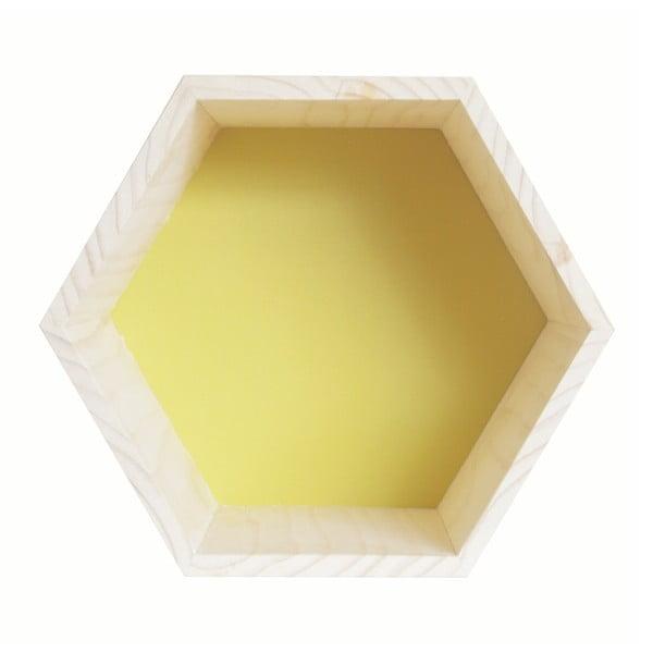 Dekorácia Hexagono Nordic Tangerine