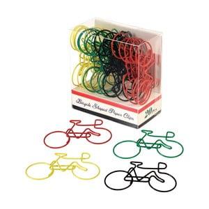 Sada 20 kancelárskych spiniek Rex London Le Bicycle